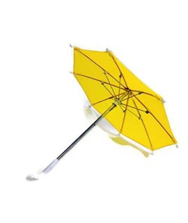 Doll Clothes Umbrella Yellow Fits American Girl Doll and Other 18 Inch Doll