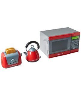 Casdon Little Cook Morphy Richards Microwave, Kettle & Toaster Toy