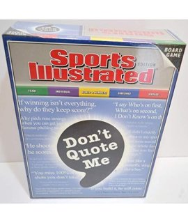 """Don't Quote Me"" Board Game - Sports Illustrated Edition"