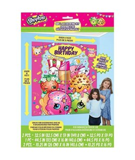 Shopkins Wall Party Decoration Kit, 5pc