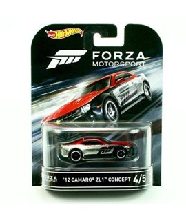 12 CAMARO ZL1 CONCEPT from the classic video game FORZA MOTORSPORT Hot Wheels 2016 Retro Entertainment Series 1:64 Scale Die Cast Vehicle (#4 of 5)