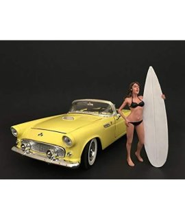 American Diorama 77489 Surfer Casey Figure For 1:24 Scale Models