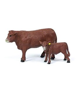 1/20 Red Angus Cow & Calf by Big Country Toys