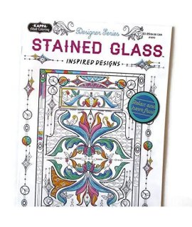 Kappa Stained Glass Coloring Book