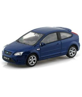 132 DISPLAY FORD FOCUS ST DIECAST CAR - NO RETAIL BOX 42378D-BL BY WELLY