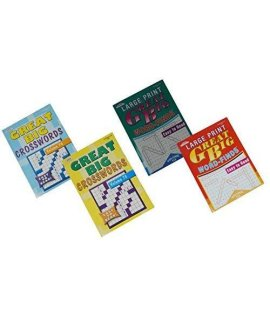 Great Big Crosswords And Word Finds 4 Pack Volumes 73 & 74 And 112 & 113