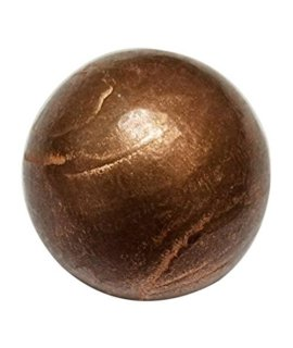 1Pc Pure Copper 40Mm Premium Copper Crystal Healing Energy Orb Sphere Ball  Mineral Of Energy, Mental Agility And Grounding