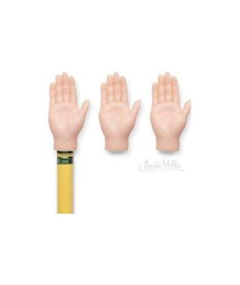 Finger Hands For Finger Hands (5 Assorted Color Finger Hands Bulk)
