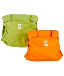 colorful diaper covers for use with gDiapers Disposable Inserts and optional Cloth Inserts. Each pa