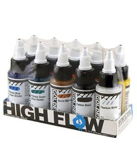 and beyond. Perfect for Acrylic Artists that want fine line detail