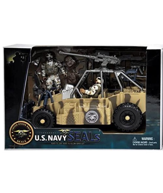 Navy Seals United States Urban Patrol Vehicle Playset